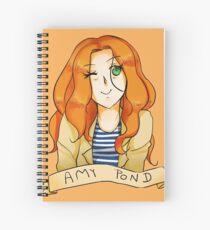 Amy Pond Spiral Notebook