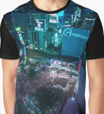 Shibuya crossing from above Graphic T-Shirt