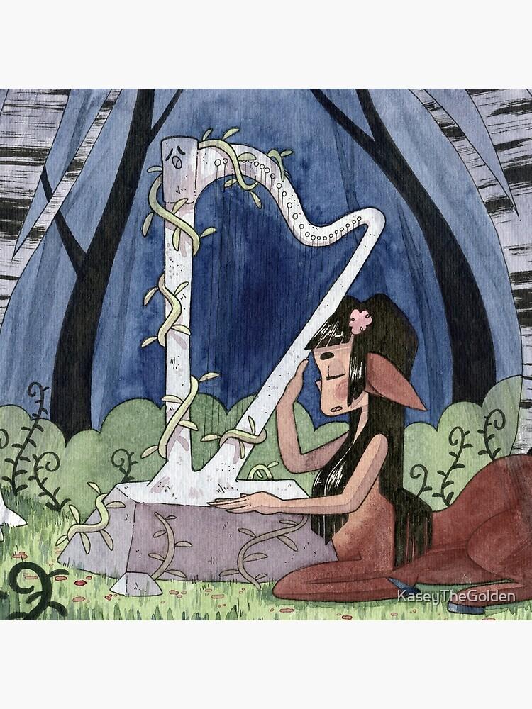 The Talking Harp by KaseyTheGolden