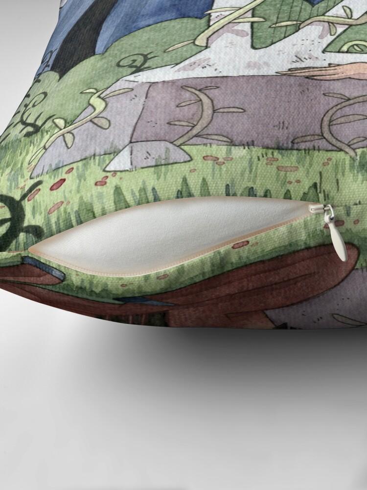 Alternate view of The Talking Harp Floor Pillow