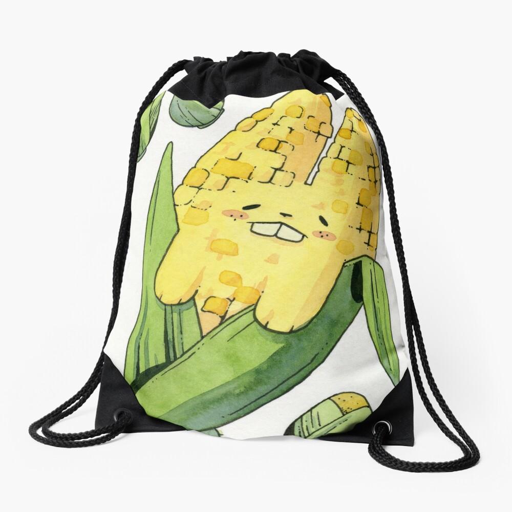 Corny Bunny Drawstring Bag