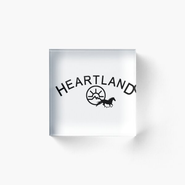 Heartland Black Acrylic Block