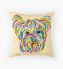 Yorkshire Terrier - YORKIE! Throw Pillow