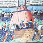 Jean Froissart Chroniken des 100jährigen Krieges 1327-1400 Fr C15 British Museum London 19840925 0017 von Fred Mitchell