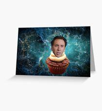 Cupcake Cage Greeting Card