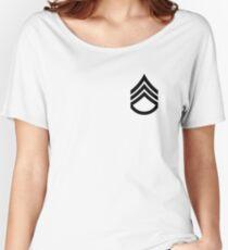 Stabsfeldwebel (schwarz) Loose Fit T-Shirt