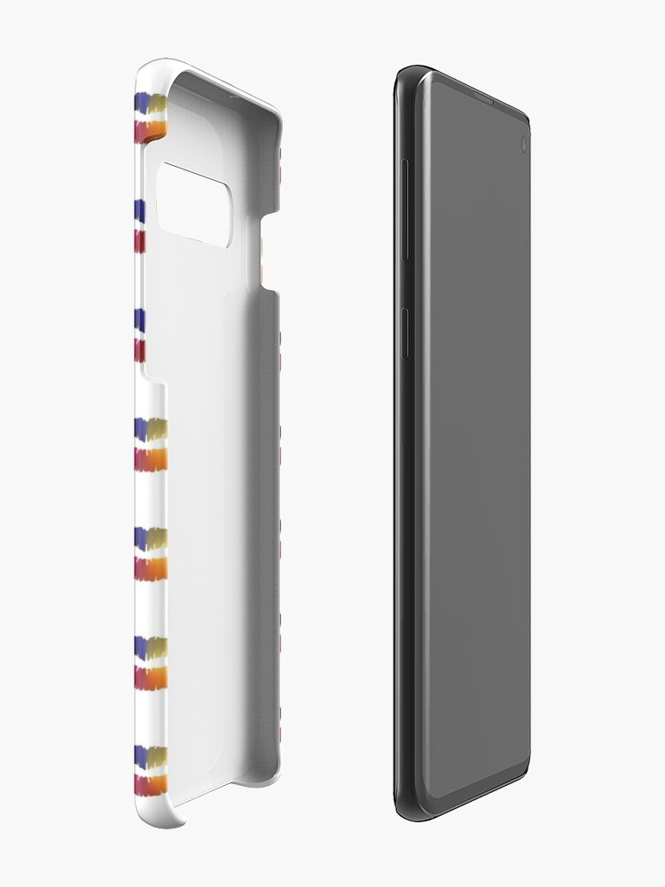 Alternate view of Lips Angle Gradient (Clear/White) Case & Skin for Samsung Galaxy
