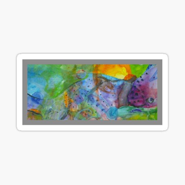 Ocean, fish, nudibranch, nature, sealife Sticker