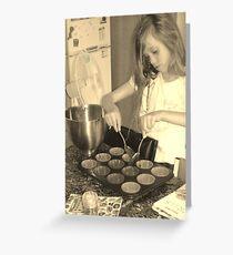 Baking Greeting Card