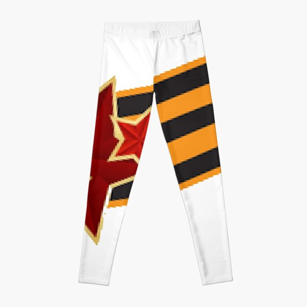 9 Мая: Victory Day is a holiday that commemorates the victory of the Soviet Union over Nazi Germany in the Great Patriotic War Leggings