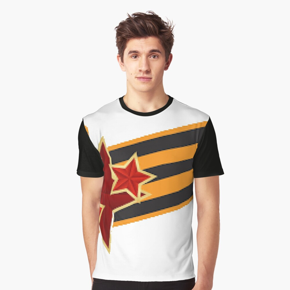 9 Мая: Victory Day is a holiday that commemorates the victory of the Soviet Union over Nazi Germany in the Great Patriotic War Graphic T-Shirt