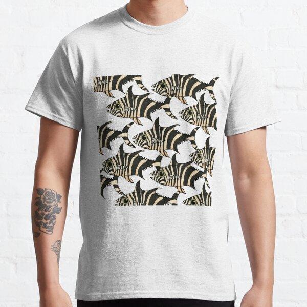 Zebra Fish School Classic T-Shirt