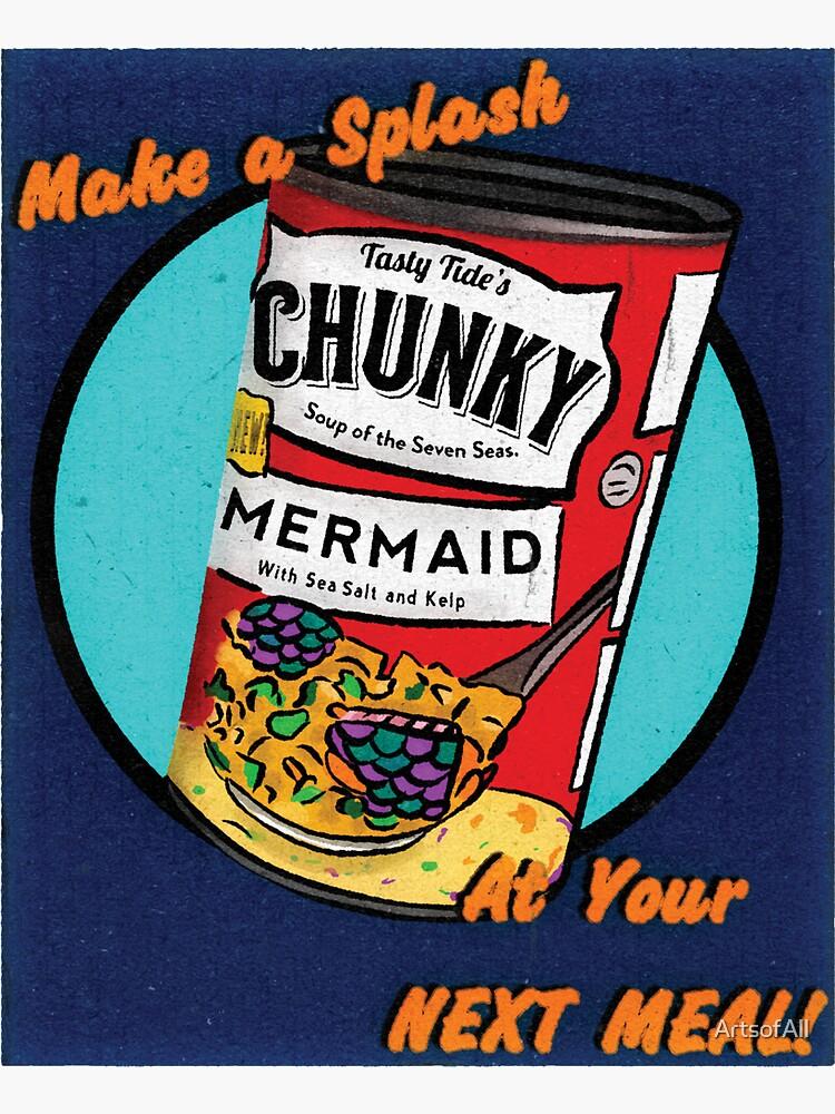 Mermaid Soup by ArtsofAll