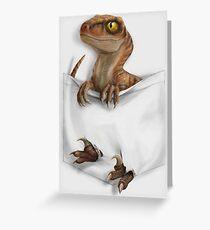 Pocket Protector - Lost World Greeting Card