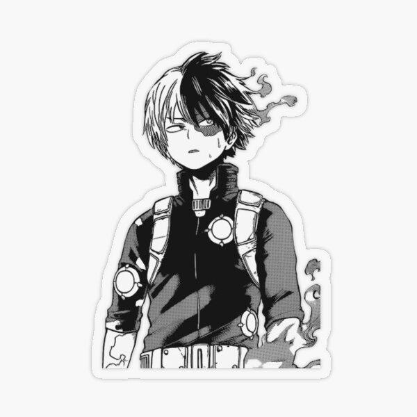 Todoroki Shouto Transparent Sticker