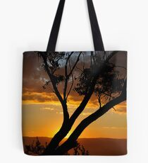 Blackheath Lookout NSW Australia - At the End of a Perfect Day Tote Bag
