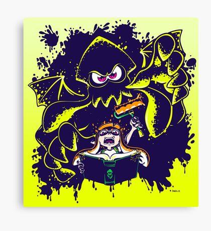 Splathoolu! Canvas Print