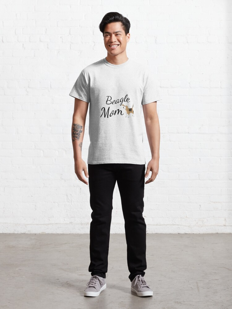 Alternate view of Beagle Mom Classic T-Shirt