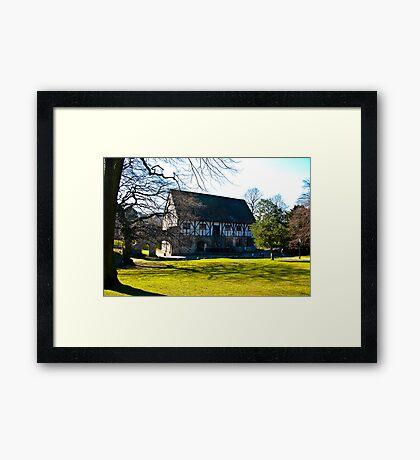 Hospitium - Museum Gardens - York Framed Print