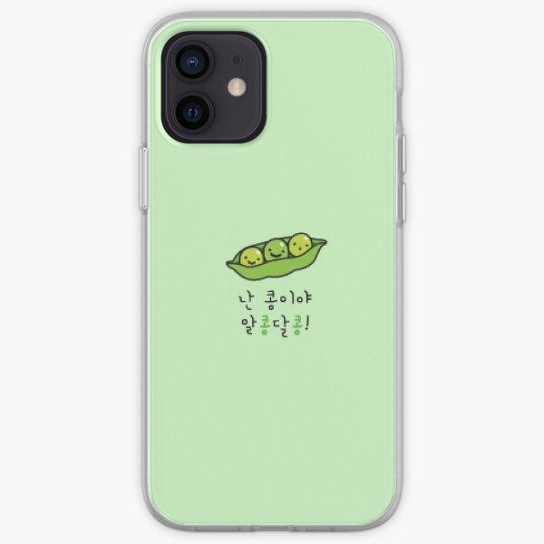 Stray Kids (IN) caja del teléfono de Jeongin lindas judías verdes Funda blanda para iPhone