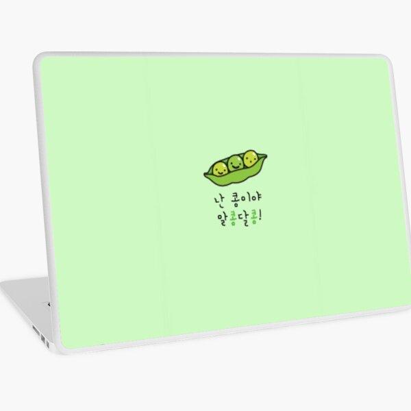 Stray Kids (IN) caja del teléfono de Jeongin lindas judías verdes Vinilo para portátil