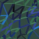 3D-futuristische GEO-Linien X 2 von tamaya111