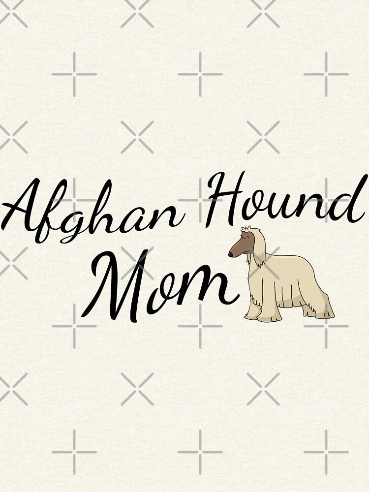 Afghan Hound Mom by tribbledesign