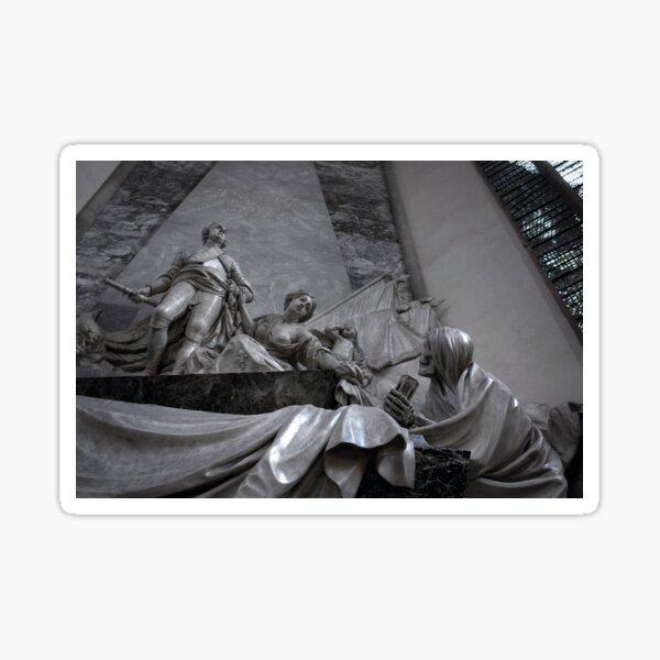Sic Transit Gloria Mundi Sticker