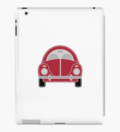 Red Car iPad Case/Skin