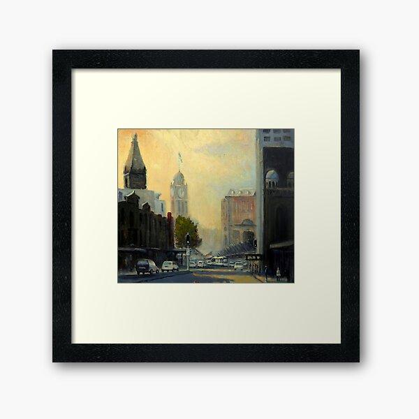Railway Square, Sydney  Framed Art Print