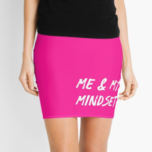 Me and My Mindset | Life | Quotes | Pink Mini Skirt