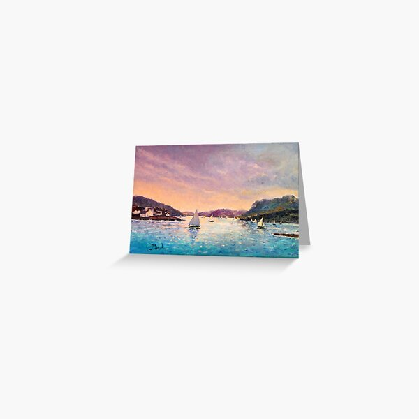 Regatta Plockton, Scotland Greeting Card
