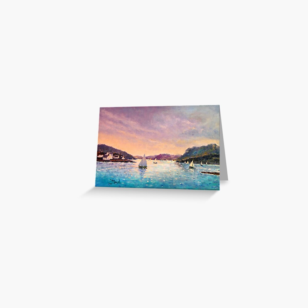 Regatta Plockton, Scotland Greeting Card