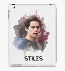 Stiles - Teen Wolf - Leinwand iPad-Hülle & Skin