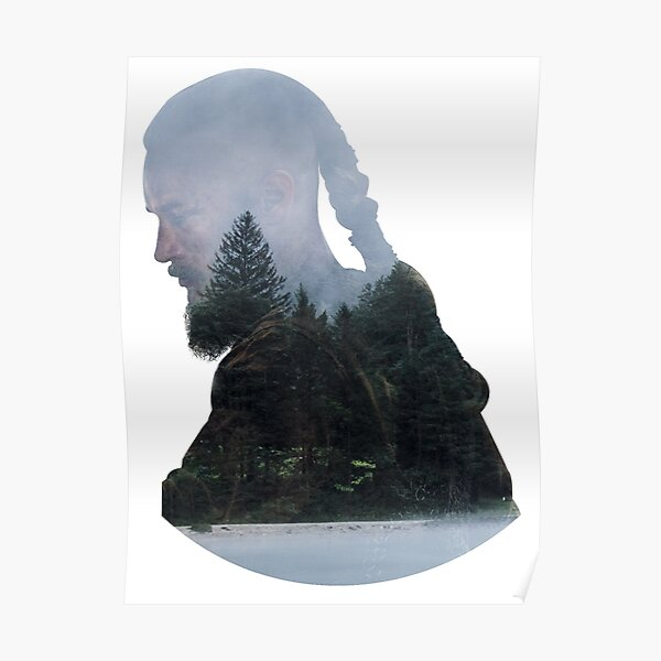 Ragnar Lothbrok - Vikingos Póster