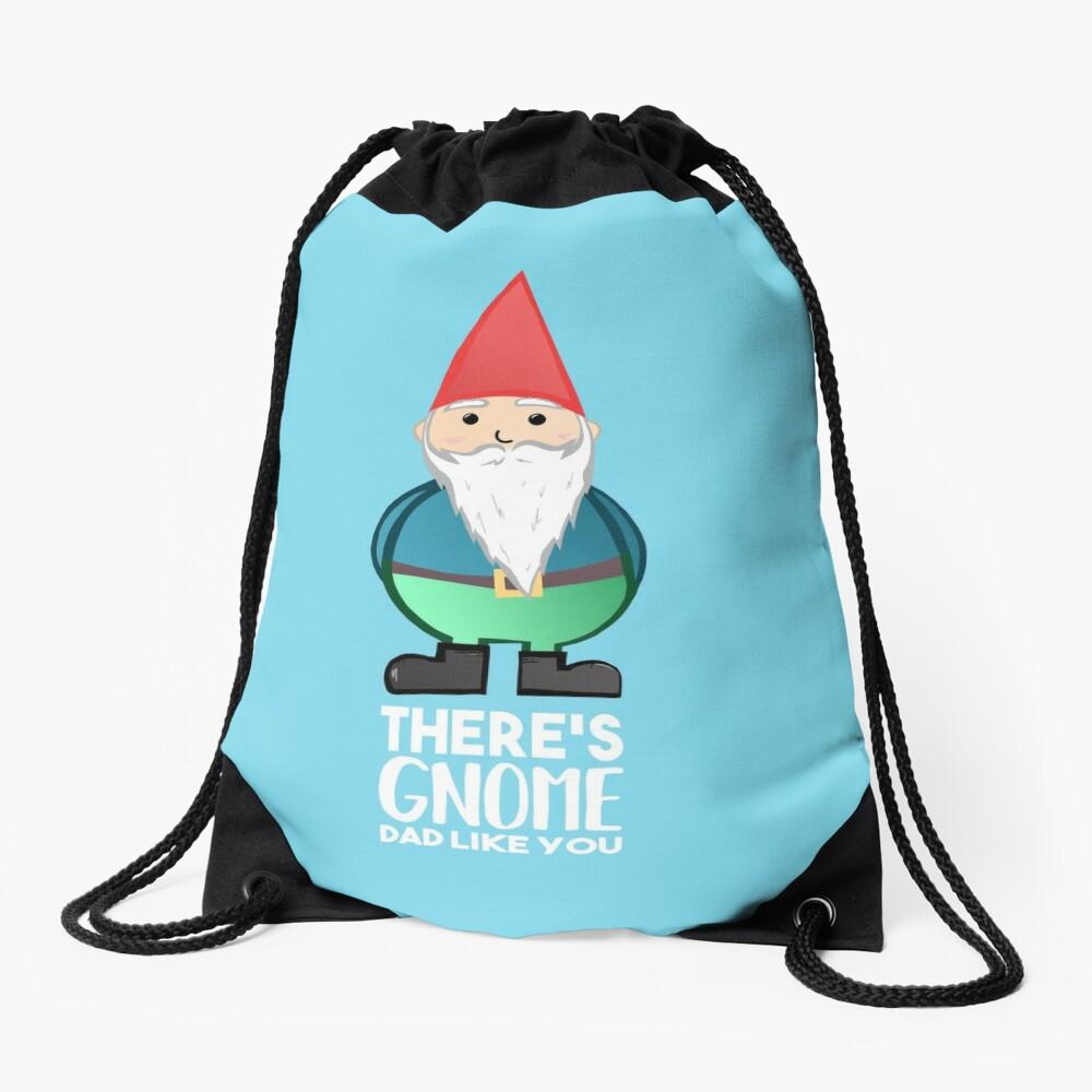 Gnome - Fathers Day , Dad, Daddy Card, Birthday! Drawstring Bag