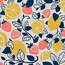 Strawberries and Lemons by abbilaura
