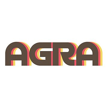 Agra Retro by designkitsch
