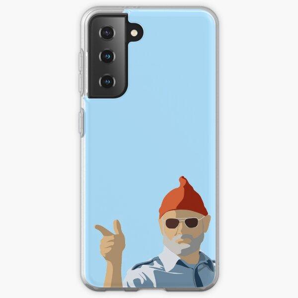 Bill Murray from Life Aquatic Samsung Galaxy Soft Case