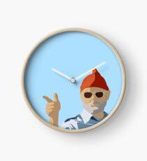 Bill Murray from Life Aquatic Clock