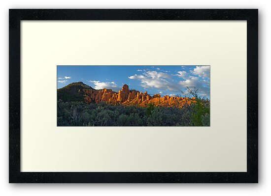 Red Canyon Panorama by Brian Hendricks