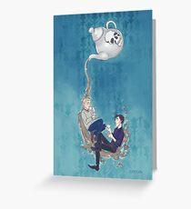 Johnlock Tea Time Greeting Card