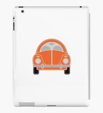 Orange Car iPad Case/Skin