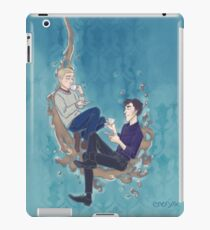 Johnlock Tea Time iPad Case/Skin