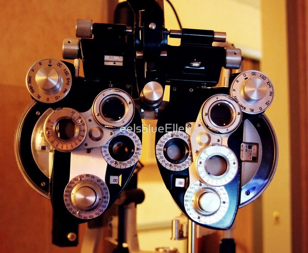 eye exam by eelsblueEllen