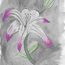 «Flor de lirio de acuarela» de AndiPi