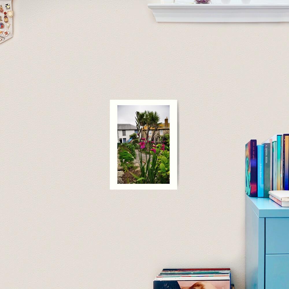 Flowers In a Border Art Print