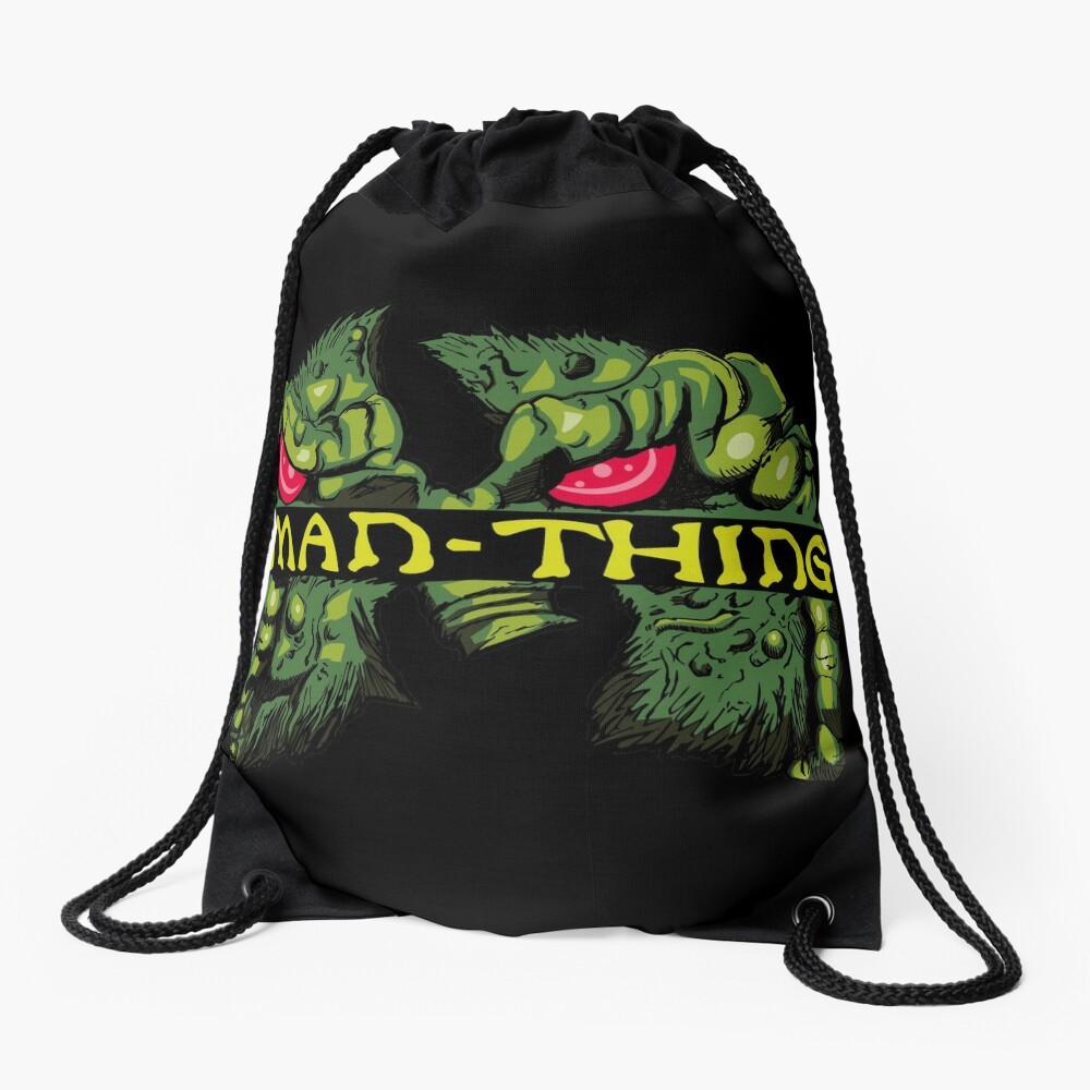 Man-Thing Clan Drawstring Bag