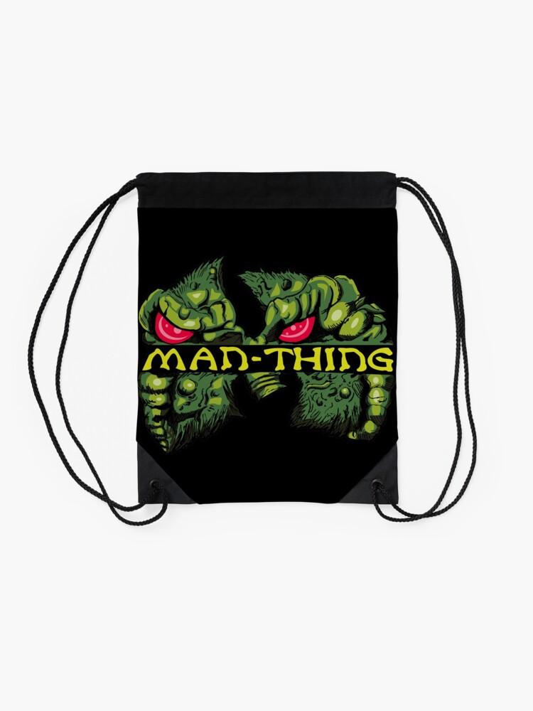 Alternate view of Man-Thing Clan Drawstring Bag