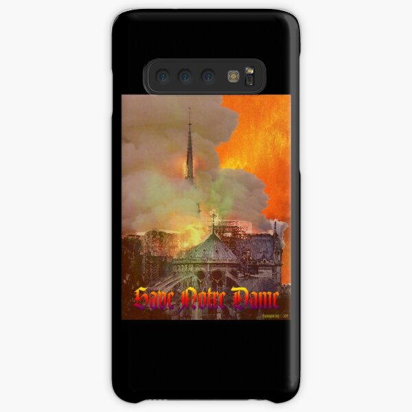 Notre Dame Fire Samsung Galaxy Snap Case